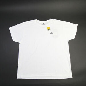 adidas Short Sleeve Shirt Men's White New with Tags