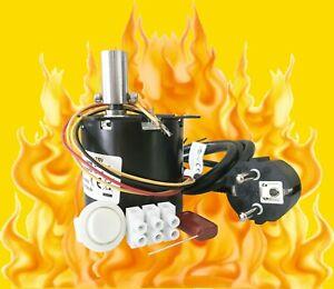 AC 230V Grillmotor, Getriebemotor, 4 U/min, links- und rechtslauf, 6 Nm, NEU