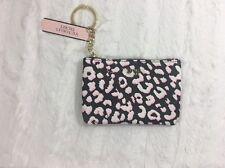 Victoria's Secret VS Pink Leopard Print Keychain Change Purse Wallet NEW BAG ~SQ