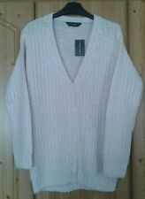 Dorothy Perkins size 6 pale pink ladies cardigan
