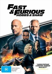 FAST & FURIOUS : HOBBS & SHAW DVD (PAL, 219) BRAND NEW & SEALED