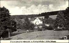DDR Landpoststempel Kleingießhübel Kr. Pirna auf AK 1962 Zschirnsteinbaude Sa.
