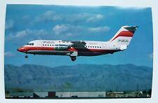 PSA Pacific Southwest Airlines BAe146-200A Postcard