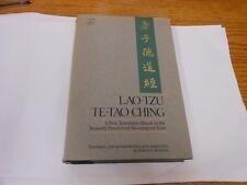 Lao-Tzu: Te-Tao Ching New Translation by ROBERT G. HENRICKS HC/DJ 1st Ed
