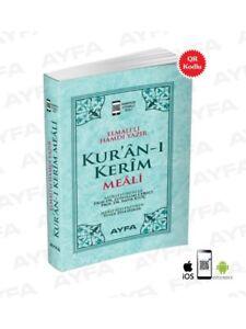 Kuran Meali Metinsiz Elmalili Hamdi Yazir 13,5 x 8 cm Ayfa Cep Boy QR kod lu