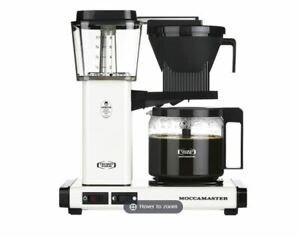 Technivorm Moccamaster KBG741 Off White Coffee Brewer 53959