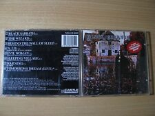 BLACK SABBATH - Black Sabbath S/T (1970 CASTLE 1st UK PRESS) Ozzy Osbourne,DIO