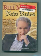 "Bill Maher - New Rules (""Real Time"" 2003,2004,2005 Seasons) / DVD / LIKE NEW"