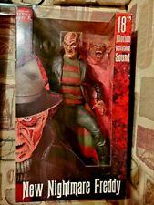 """Original NECA 18"""" Nightmare on Elm St. Freddy Krueger Figure Wes Craven's 2004"""