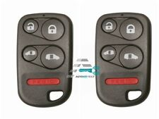2 Replacement For 2001 2002 2003 2004 Honda Odyssey Key Fob Remote Shell Case