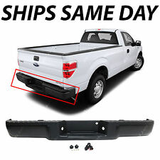 NEW Primered - Complete Rear Steel Bumper Assembly For 2009-2014 Ford F150 Truck