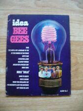 The Bee Gees - Idea (Original Abigail Piano/Vocal/Guitar Sheet Music 1968) VGC