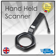 Portable Hand Held Metal Security Detector Super Scanner Meter Lightweight Wand