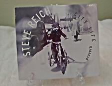 Steve Reich City Life CD - Shipped FREE via USPS Media Mail