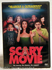 Scary Movie (DVD, 2000 Widescreen) Shawn Wayans / Anna Faris