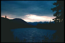 276073 Jasper National Park Sunset Over The Athabasca River A4 Photo Print