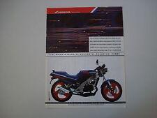advertising Pubblicità 1988 MOTO HONDA NSR 125