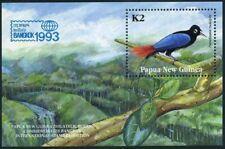 Papua New Guinea 818,MNH.Michel 693 Bl.5. BANGKOK-1993,Paradisaea rudolpbi.