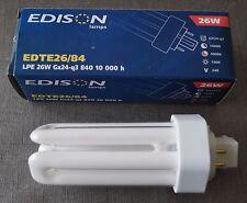 Lampe fluo-compacte LPE 26W Gx24q3 840 10.000 h - EDISON