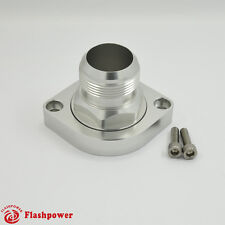 Billet Swivel Thermostat Housings Water NecK 180 AN20 LS Engine Clear