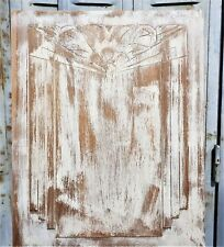 Modernist fruit art deco wood carving panel Antique french architectural salvage