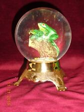 Frog Snowdome 5.5 Inches Tall