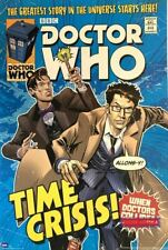 Doctor Who Time Crisis 1996 Vintage Poster 24 x 36