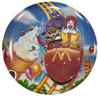 Vintage McDonald's Plastic Plate 1998 Rare Collectable