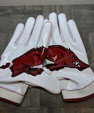 Nike Superbad 4.0 Arkansas Razorback NCAA NFHS Football Gloves PGF432-116 XXXL