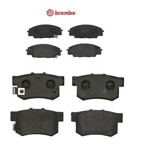 For Honda Civic S2000 Type R 2.0 EP3 Front Rear Brembo Brake Pads Set