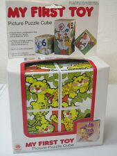 *  MY FIRST TOY - PICTURE PUZZLE CUBE
