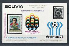 Bolivien Block 62 postfrisch / Olympiade - Fußball ........ ..............1/2958