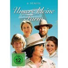 UNSERE KLEINE FARM S 6 - 6 DVD NEU MICHAEL LANDON,KAREN GRASSLE,MELISSA GILBERT