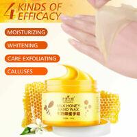 Honey Hand Wax Milk Cream Remove Dead Skin Hand Care Healthy Beauty Mask 150g