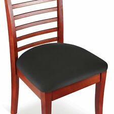 NEW Black Stretch N Fit Chair Fabric Renewal Cover Set of 2 square,oblong,round