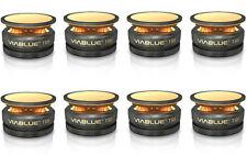 Viablue TRI ABSORBER black / HighEnd Spikes / schwarz / 2 x 4er Set (8 Stück)