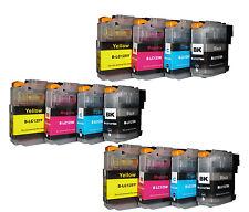 Lot de 12 CARTOUCHES D'Encre Compatible avec Brother Mfc- J65200DW MFC J6920DW