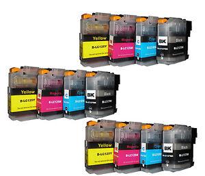 12 Ink Cartridges Compatible With Brother Mfc- J65200DW MFC J6920DW MFC-J172DW
