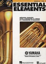 ESSENTIAL ELEMENTS Bass BB Schlüssel fa vol. 1 Methode complète - Yamaha - neu