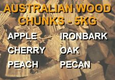 Australian BBQ Smoking Wood Chunks- Cherry, Redgum, Iron Bark