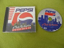 Pepsi CD RARE Israel Made Only Promo / J.J. Cale / Allman Brothers / James Brown