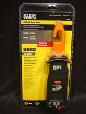 Klein Electrician Tools Hook Meter 200 Amp Current Voltage Ohm Continuity Tester
