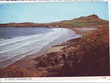 Old Postcard (1977) - St Davids - Whitesands Bay - Posted 0536