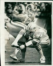 Circa 1970's Cullen Bryant RB Rams Football Original News Service Photo