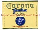 1970s MEXICO Modelo Familiar Beer Label Tavern Trove