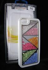 Hülle & Box für Apple iPhone 5 5S Strass Back Cover Schutz Bumper Case