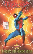 Spider-man il Trionfo del Folletto Verde - VHS Stardust da vendita *rarissima*