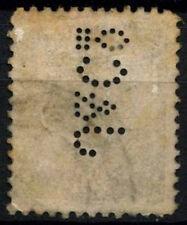 "Romania 1893-1919, 25b Perfin Used ""J&Co"" #D50126"