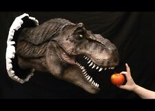 Jurassic World Park Life-like T-Rex : Tyrannosaurus Movie Prop Replica Wall Room