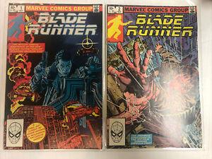 Blade Runner (1982) # 1 2 (F/VF) Movie !